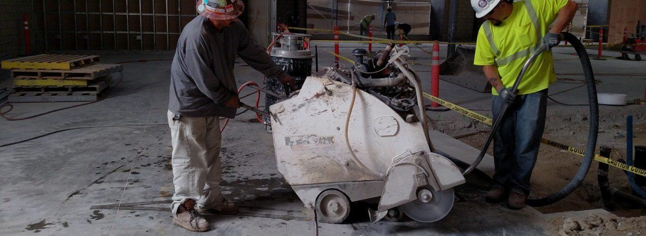 Flat Slab Sawing | Flat Saw Cutting Contractors