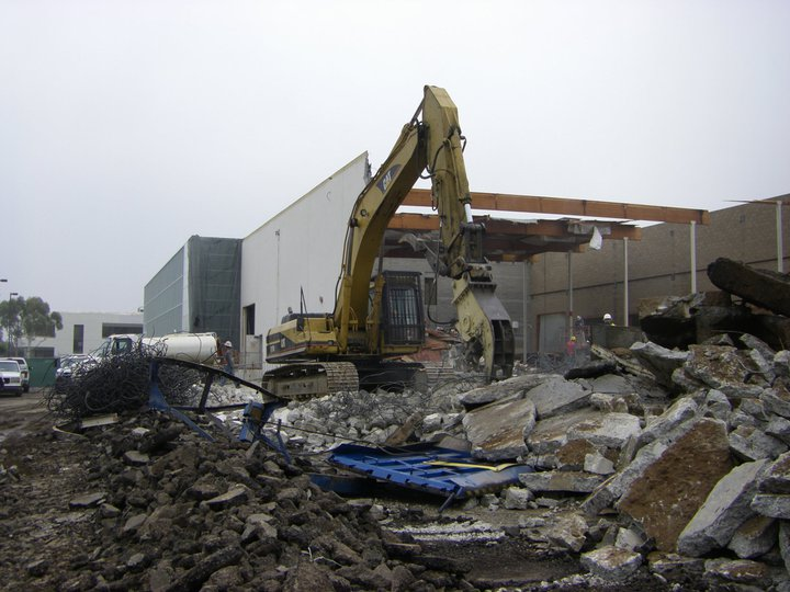 nippon express demolition project